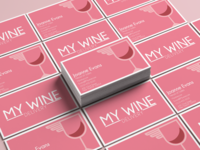 My Wine Business Cards