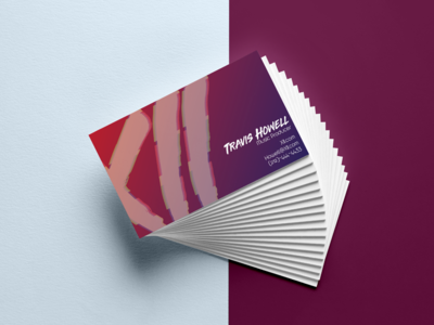 Business Cards for XII xii glitch music thirty logos logo branding graphic design
