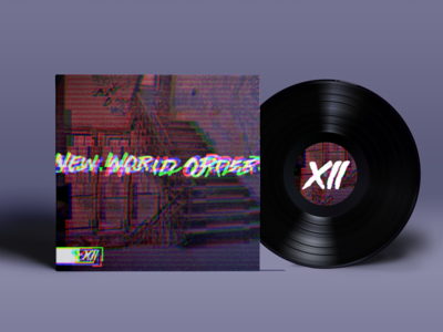 New World Order, Record by XII xii glitch music thirty logos logo branding graphic design