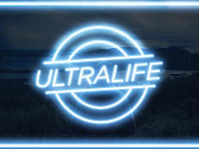 Ultralife digital art design fulfilled life neon graphic design ultralife