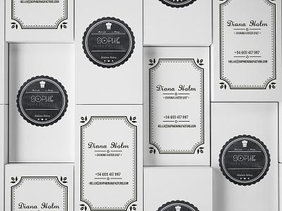 SM Businesscard graphic design vector branding logo business card