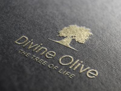 Divine Olive Logo design logotype vector branding logo