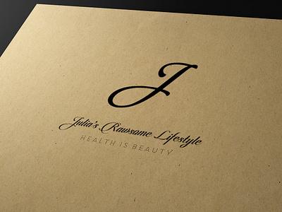 Julia Rawsome Logo 2 logotype business card graphic design logo