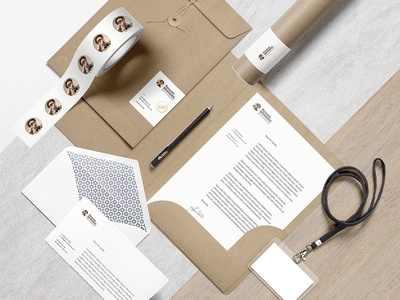 Premade Scene premade letter branding typography graphic design