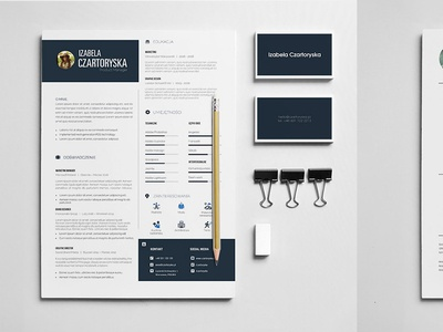 Resume typography cv graphic design resume design