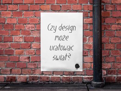 Poster graphic design branding poster