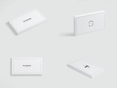 Travelicous Logo mockup design illustration icon business card typography design logo logotype