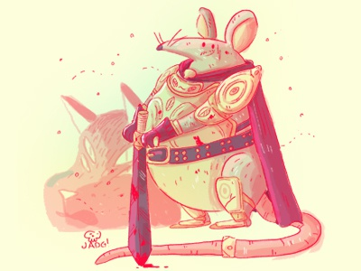 Mouse comic sketch art charactedesign illustration doodle mouse