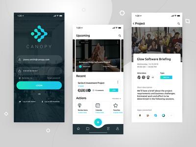 Canopy - Project Management App