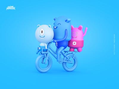 Social Monster Agency Rebranding + Brand heroes