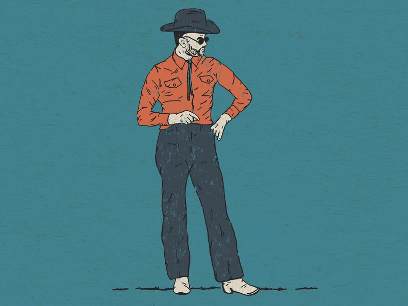 Charley Crockett charley crockett austin texas texas country music design nashville music art illustration western denver colorado illustration art