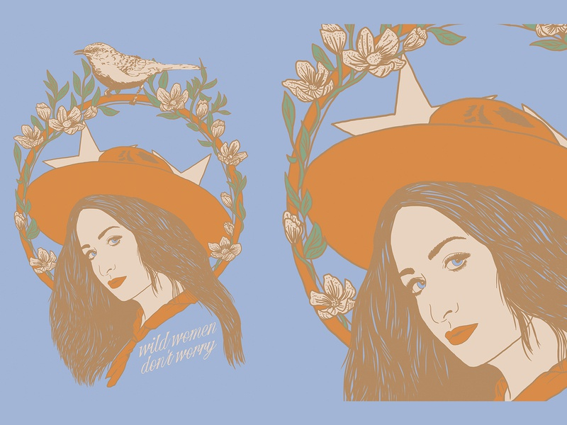 Margo Price Poster cowgirl mocking bird tennessee margo price country music nashville music art western colorado denver illustration art