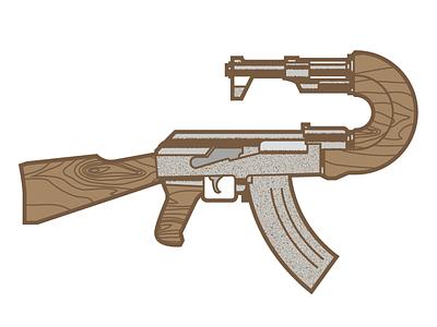 bang vector gun ak 47