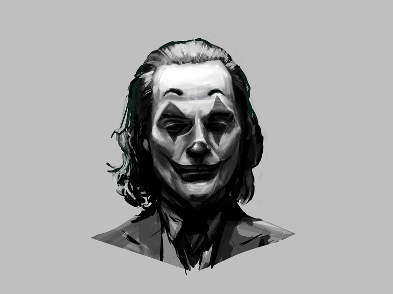 Joker DigitalPainting - values