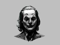 Joker DigitalPainting - values