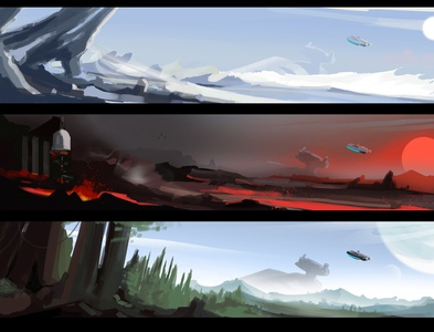 StarWars SpeedPainting