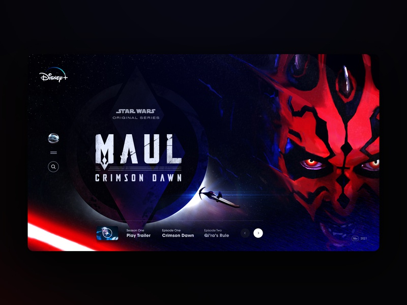 Darth Maul on Disney+