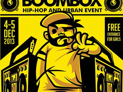 Hip Hop Flyer Template from cdn.dribbble.com