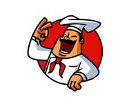 Chef Mascot Logo for sale
