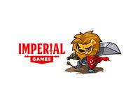 Imperial Games - Mascot & Logo re-design