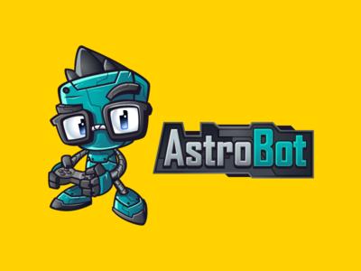 Astrobot Mascot & Logo