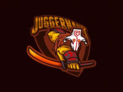 Juggernaaauuuuutttt!!! hero esports logo gaming logo gamers game juggernaut esports moba dota2