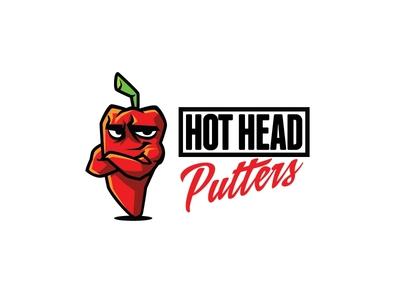 Hot Head Putters Logo