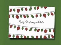 Merry Christmas you hohoho Christmas Card