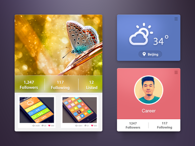 Uikit app ui design photoshop uikit