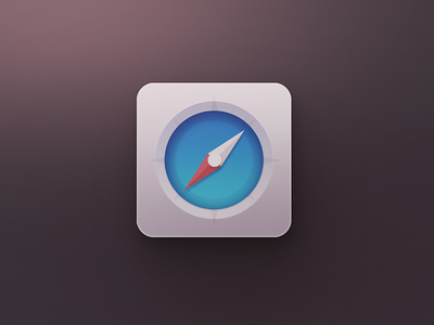 Safari icon design icons ui gui cartoon sms music theme