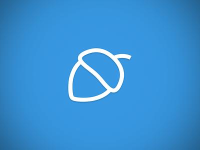 Acorn Icon simplify icon acorn squirrel