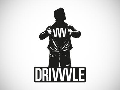 Even more Drivvvle drivvvle logo branding superhero