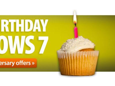Birthday banner windows 7 ebuyer cake cupcake green