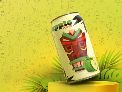 apple xtrax dimensions illustration stylized package design branding