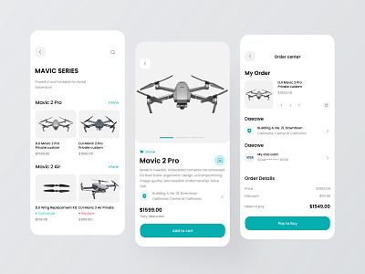 Drone purchase app dribbble invite logo icon app ux design ui colorful 视觉艺术 typography