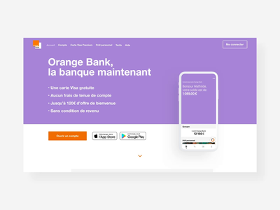 Orange Bank - Homepage