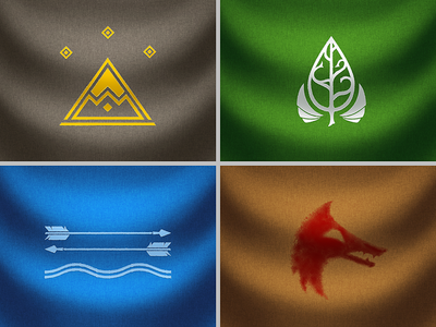 The Hobbit Flags