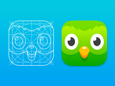 New Duolingo App Icon