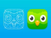 New Duolingo App Icon