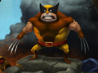 Wolverine, bub.