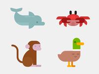 Illustrated Exercises - Animals