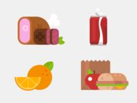 Illustrated Exercises - Food
