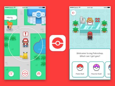 Pokemon Go Redesign