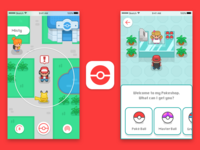 Pokemon Go Redesign