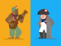 Samudragupta and Napoleon