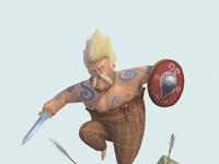 Gallic celt