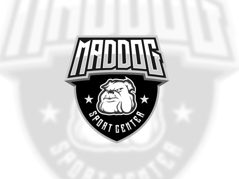 Maddog Badge 2 branding vector illustration design instagram ideas dribble logoinspirations logo coreldrawx7 99d