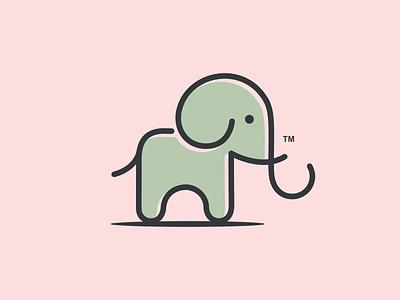 ELEPHANT logoawesome vector illustration 99d dribble logo ideas instagram logoinspirations coreldrawx7