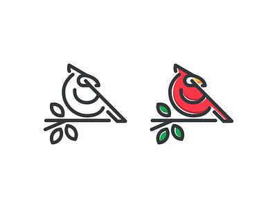 CARDINAL BIRD cardinal europe america qatar dubai sale logodesignersclub graphicdesign logodesign flatlogodesign thedesignmate logoawesome design vector illustration dribble logo instagram ideas logoinspirations