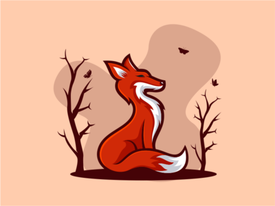 FOX america nature beast wild animal company general sale art fox logoplace thedesignmate logoawesome design vector illustration dribble logo instagram logoinspirations